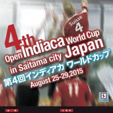 Poster Open World Cup 2015 Saitama City, Japan